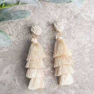 Fringe/tassel earrings